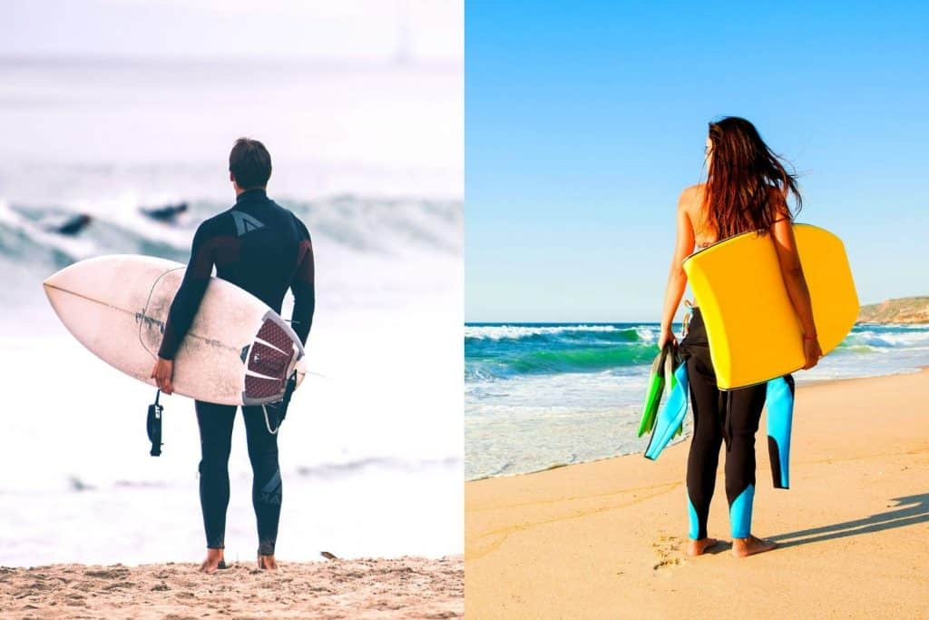 Bodyboarding vs Surfing